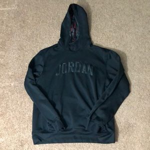 Jordan Brand Black Hooded Sweatshirt